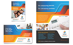 HVAC - Print Ad Sample Template