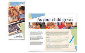 Child Care & Preschool - Brochure