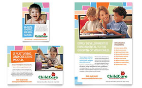 Preschool Kids & Day Care - Flyer & Ad