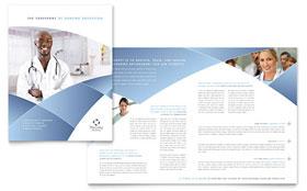Nursing School Hospital - Apple iWork Pages Brochure Template