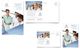 Nursing School Hospital - Postcard Template
