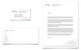 Language Learning - Business Card & Letterhead Template Design Sample