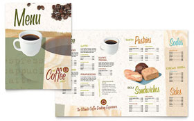Coffee Shop - Microsoft Word Menu Template