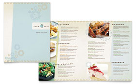 Cafe Deli - Microsoft Word Menu Template