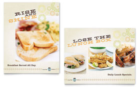Cafe Deli - Poster Template Design Sample
