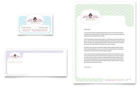 Bakery & Cupcake Shop - Business Card Template