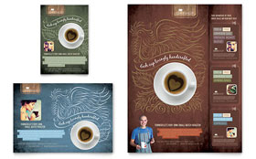 Coffee Shop - Flyer & Ad Template Design Sample