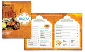 Indian Restaurant - Menu Template
