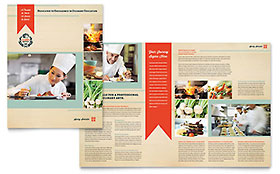 Culinary School - Apple iWork Pages Brochure Template