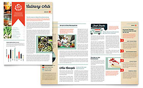 Culinary School - Newsletter Template