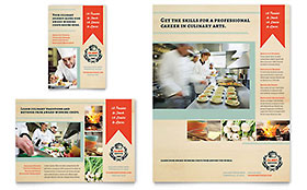 Culinary School - Flyer & Ad Template