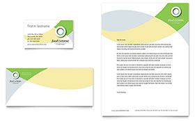 Food Catering - Business Card & Letterhead Template