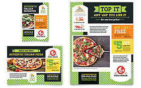 Pizza Parlor - Flyer & Ad Template