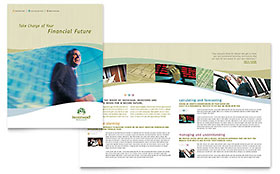 Investment Management - Graphic Design Brochure Template