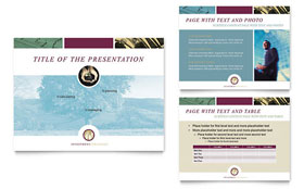 Financial Planning & Consulting - PowerPoint Presentation Sample Template