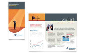 Business Bank - Brochure Template Design Sample