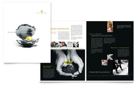 Wealth Management Services - Brochure Template