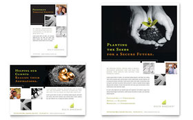 Wealth Management Services - Flyer & Ad Template