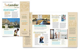 Mortgage Broker - Newsletter Template