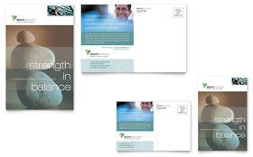 Wealth Management Services - Postcard Template