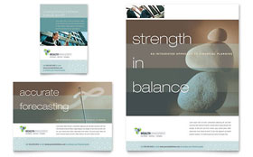 Wealth Management Services - Flyer & Ad