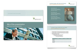 Wealth Management Services - PowerPoint Presentation Template Design Sample