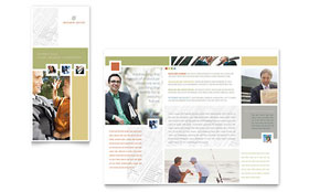 Investment Advisor - Apple iWork Pages Brochure Template