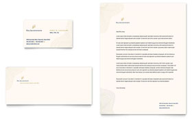 CPA & Tax Accountant - Business Card & Letterhead Template