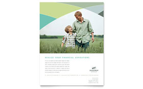 Financial Advisor - Leaflet Sample Template