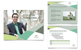 Financial Advisor - PowerPoint Presentation Template Design Sample