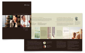 Financial Planner - Microsoft Word Brochure Template