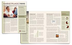 Financial Planner - Newsletter Template