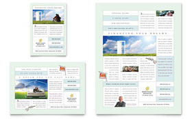 Mortgage Lenders - Flyer & Ad Template Design Sample