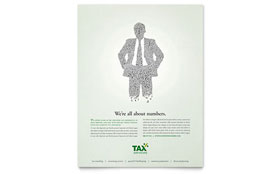 Accounting & Tax Services - Leaflet Template