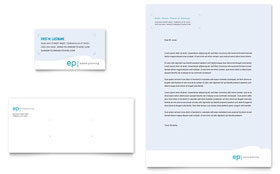 Estate Planning - Business Card & Letterhead Template