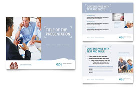 Estate Planning - Microsoft PowerPoint Template Design Sample