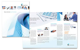 Accounting Firm - Business Marketing Brochure Template