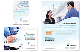 Accounting Firm - Flyer & Ad Template