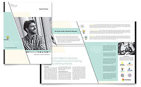 Venture Capital Firm - Apple iWork Pages Brochure Template