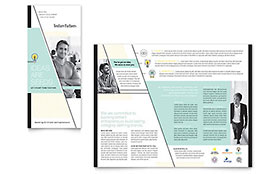 Venture Capital Firm - Tri Fold Brochure Template