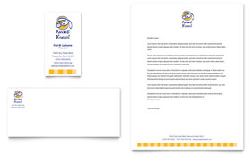 Dog Kennel & Pet Day Care - Business Card & Letterhead Template Design Sample