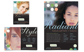 Beauty & Hair Salon - Flyer & Ad Template