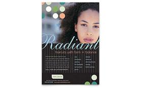 Beauty & Hair Salon - Flyer Template