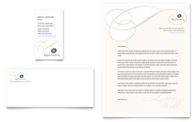 Apartment & Condominium - Business Card & Letterhead Template