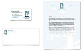 Commercial Developer - Business Card & Letterhead Template
