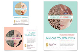 Skin Care Clinic - Flyer & Ad Template
