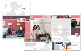 Interior Designer - Adobe Illustrator Brochure