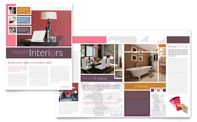 Interior Designer - Newsletter Sample Template