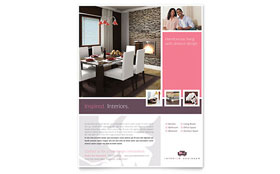 Interior Designer - Flyer Template