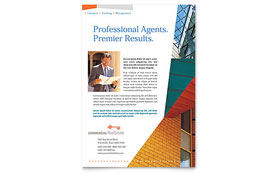 Commercial Real Estate Property - Flyer Template